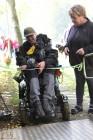 Invigningen av handikappanpassningen